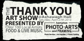 Thank You Art Show 2013 by Hampton Photo, Art and Framing
