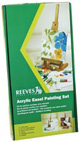 Reeves Acrylic Color Easel Painting Set