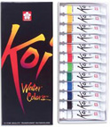 Koi Watercolor Sets