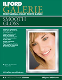 Ilford Galerie Smooth Glossy Paper