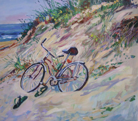 My Beach Ride by Frank Sofo