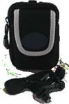Neoprene Camera Pouch w/ Zipper